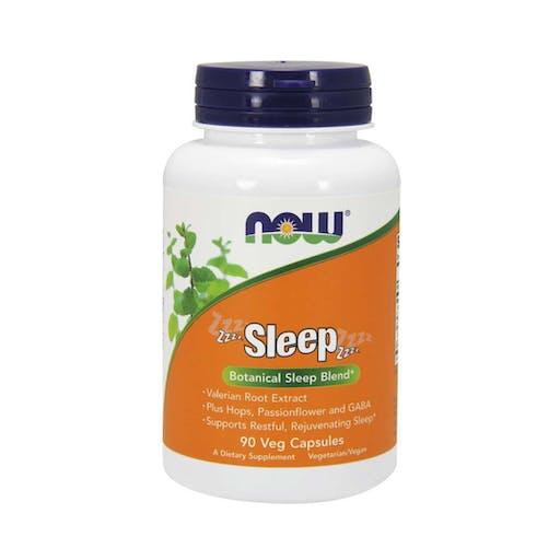 Sleep - 90 Cápsulas vegetais do sono - NOW