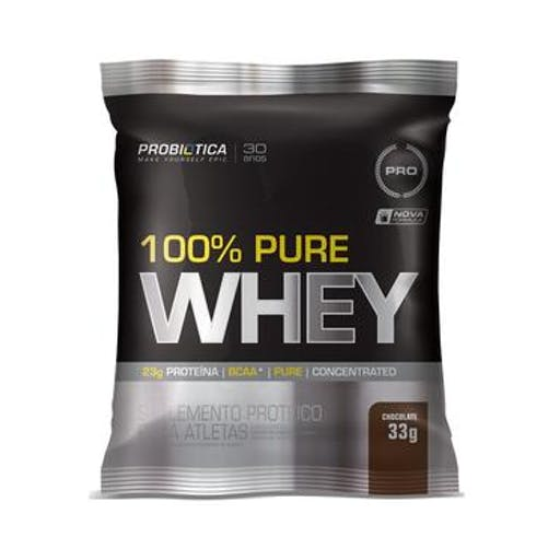 100% Pure Whey - Sache 33g - Probiotica
