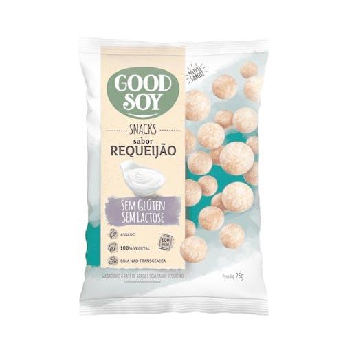 Snacks Sem Glúten e Sem Lactose Requeijão - 25g - Good Soy