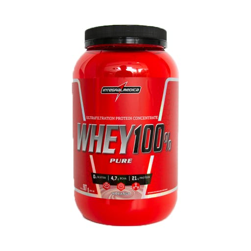 Whey 100% Pure Pote 907g - Integralmédica