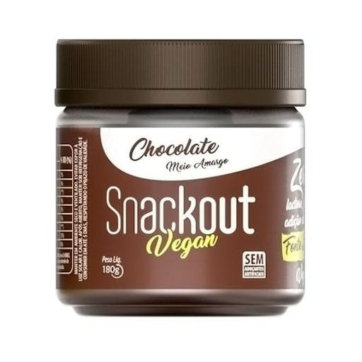 Doces Fit - Low Carb- 180g - Snackout Vegano