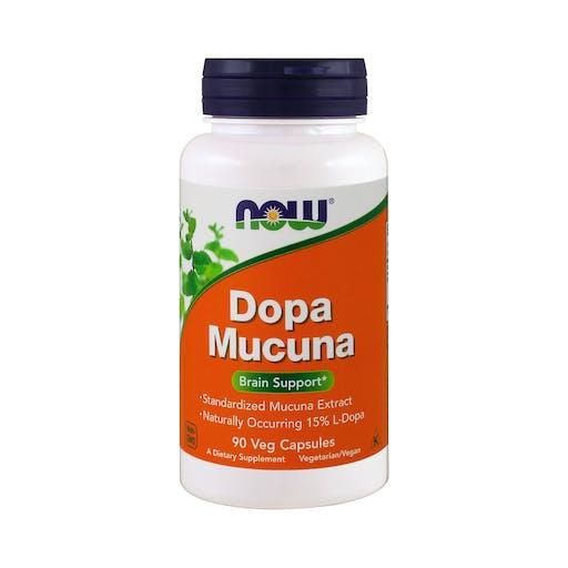 DOPA MUCUNA  Veg - 90 CAPS - NOW