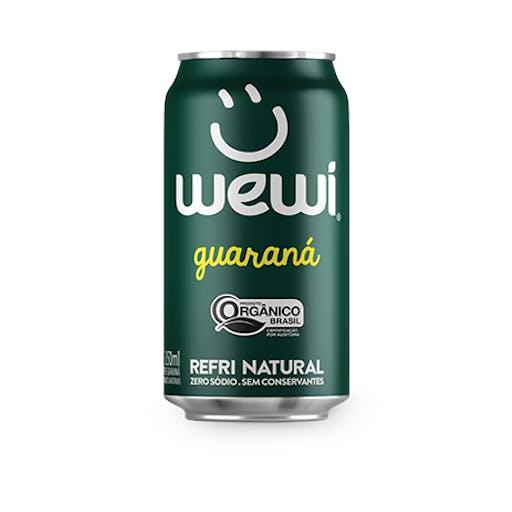 Refrigerante  Guaraná Orgânico Lata- Wewi