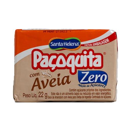 Paçoca Zero com Aveia  22g - Santa Helena