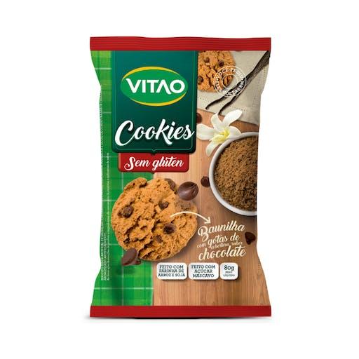 Cookies Sem Glúten 80g - Vitao
