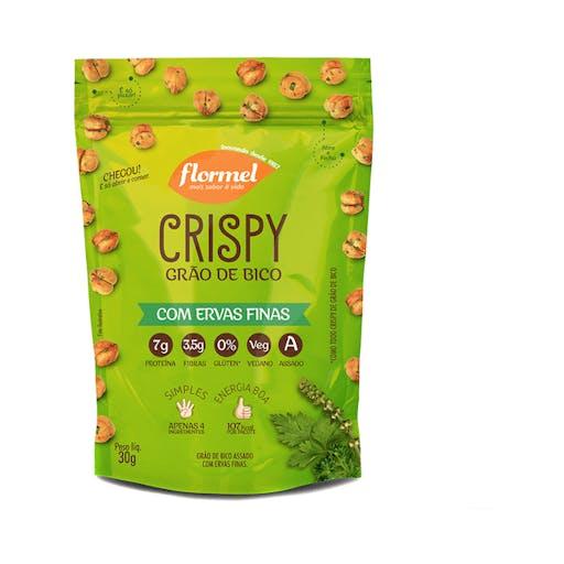 Crispy De Grão De Bico Ervas Finas 25g - Flormel