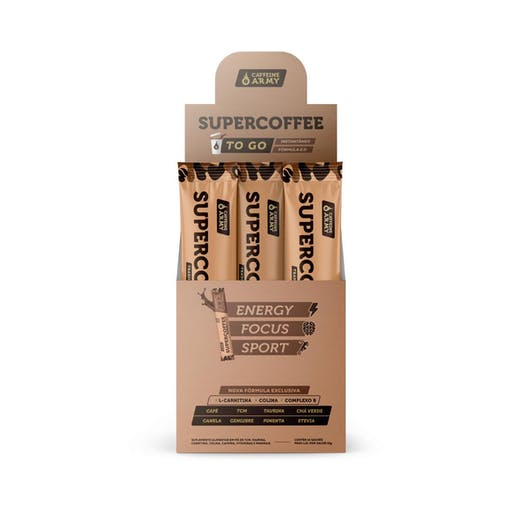Super Coffee To Go - 10g - Caffeine Army