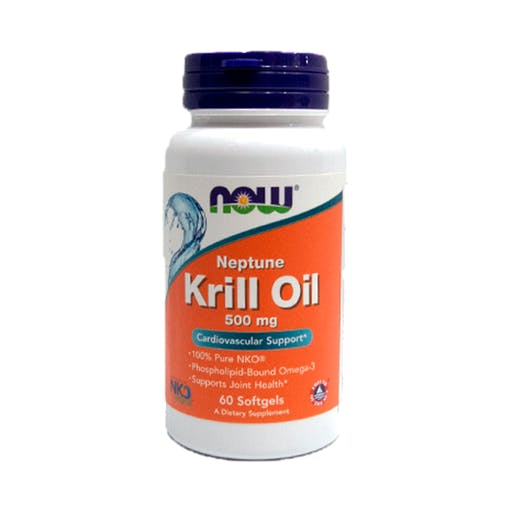 KRILL OIL 500MG 60 Cápsulas - Now