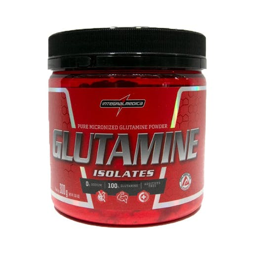 Glutamine Insolates 300g - Integralmédica