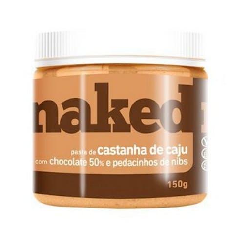 Pasta de Castanha de Caju com Chocolate Belga Crocante - 150g - Naked Nuts