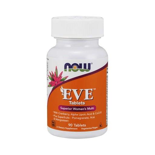 Eve ™ Tablets - Comprimidos de vitamina para mulher - NOW