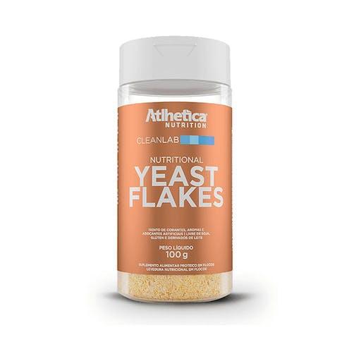 Levedura Nutricional Yeast Flakes 100g - Atlhetica Cleanlab
