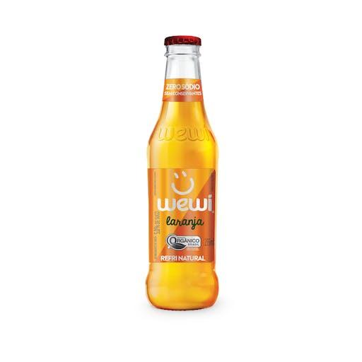 Refrigerante Orgânico Laranjada VD - Wewi