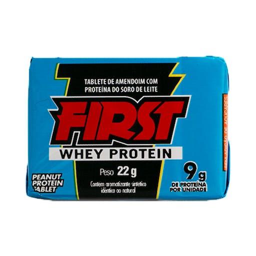 Paçoca First Whey Protein  22g - Santa Helena