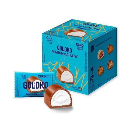 Bombom de Chocolate com  Marshmallow 11,5g - Goldko