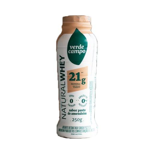 Iogurte Natural Whey 21g Pasta de Amendoim 250g - Verde Campo