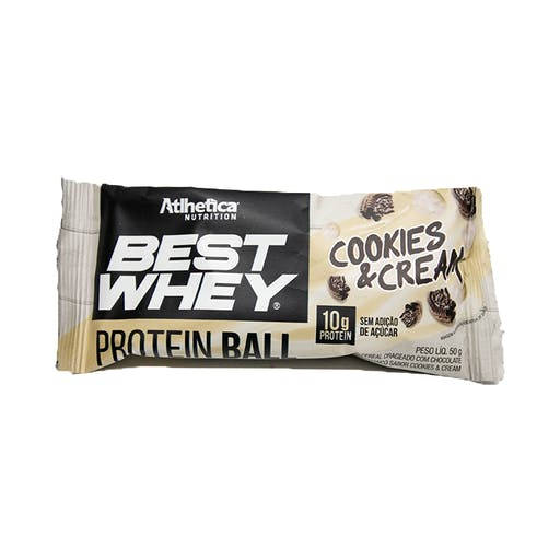 Best Whey Protein Ball 50g - Atlhetica