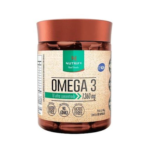 Ômega 3 - 60 Cáps -  NUTRIFY