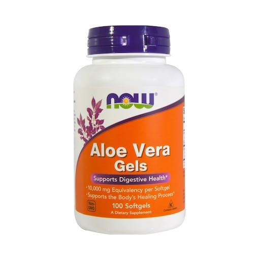 Aloe Vera Gels - 100 Caps - NOW
