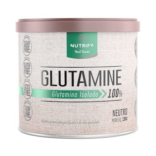 GLUTAMINE L-GLUTAMINA ISOLADA 100% SABOR NEUTRO 150G - NUTRIFY