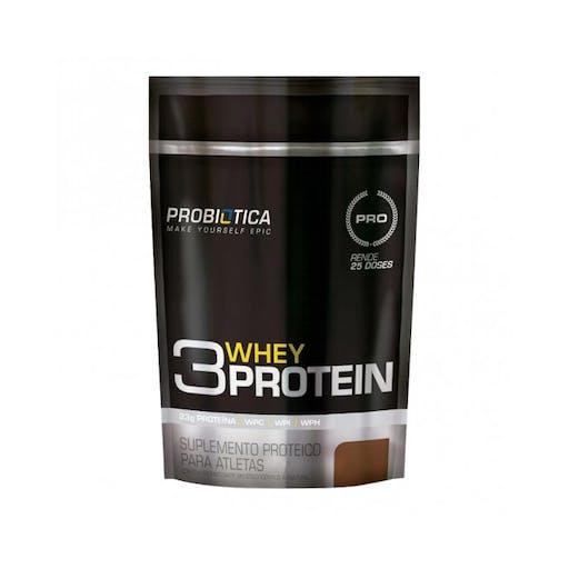 3 Whey Protein- Refil 825g - Probiotica