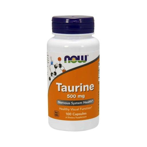 TAURINE - 500 mg - 100 CAPS NOW