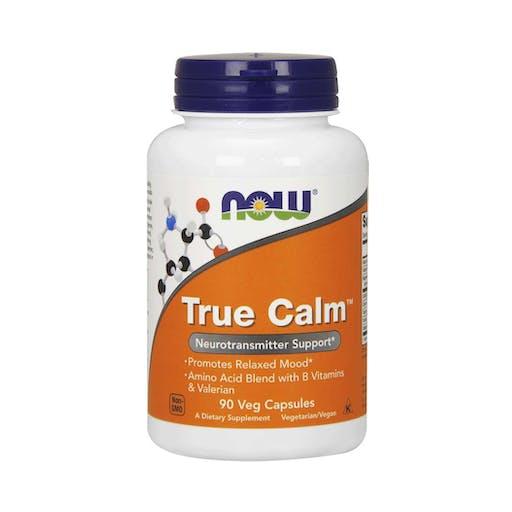 True Calm - 90 Cápsulas - NOW