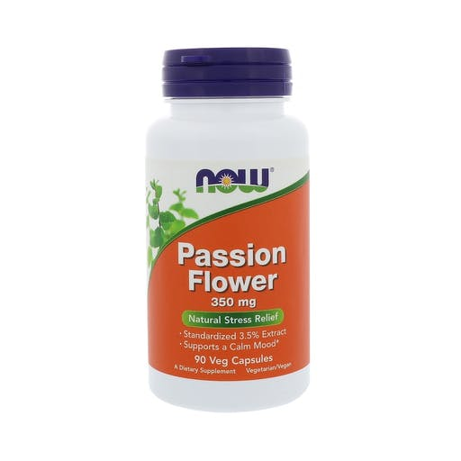 PASSIFLORA (PASSION FLOWER) 350mg - 90 CAPS -  NOW