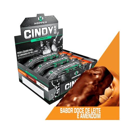 Cindy Bar Doce de Leire e Amendoim - 45g - Hopper