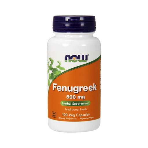 Fenugreek - (Feno Grego) - 500mg - (100 caps) - Now