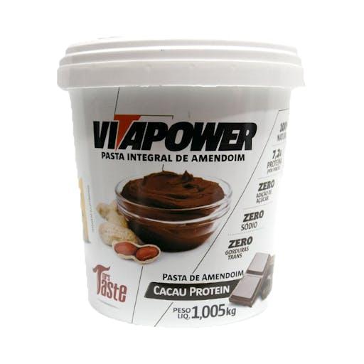 Pasta Integral de Amendoim Vitapower Cacau Protein