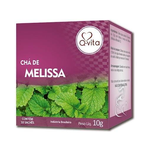 Cha de Melissa 10g - Q-Vita