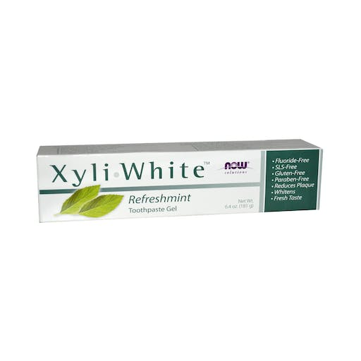 Creme Dental Xylitol White - Now Foods