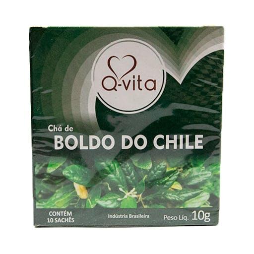 Chá de Boldo do Chile - 10g - QVita