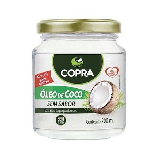 Óleo de Coco Sem Sabor - 200ml - Copra