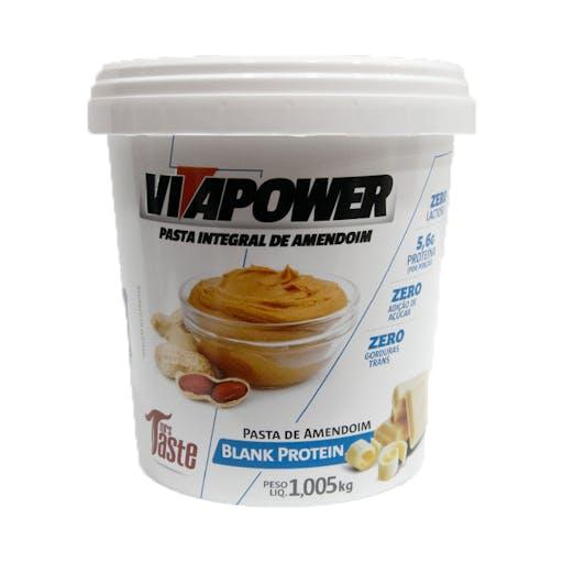 Pasta Integral de Amendoim Vitapower Chocolate Branco