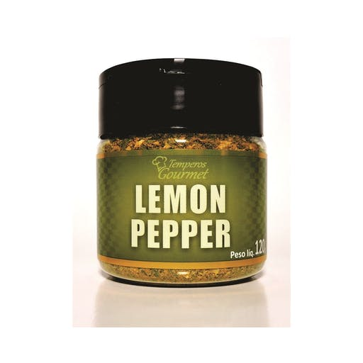 Tempero Gourmet Lemon Pepper 50g - Q-Vita
