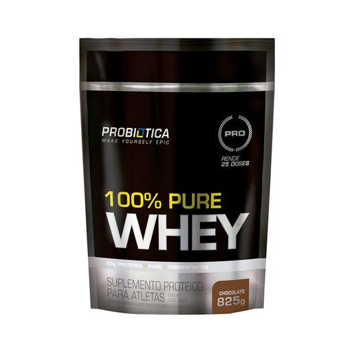 100% PURE WHEY - Refil 825g - Probiotica