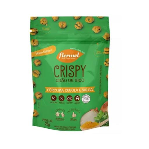 Crispy De Grão De Bico Curcuma, Cebola E Salsa 25g - Flormel
