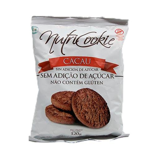 Cookies Sem Açúcar, Sem Glúten 120g - NutriCookie