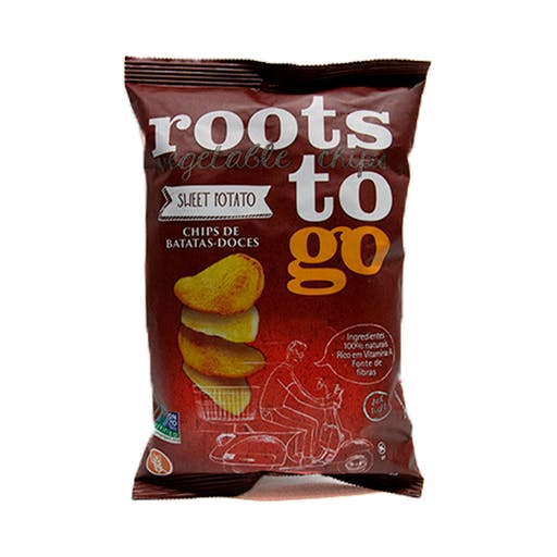 Chips Batata doce - 45g - Roots to go