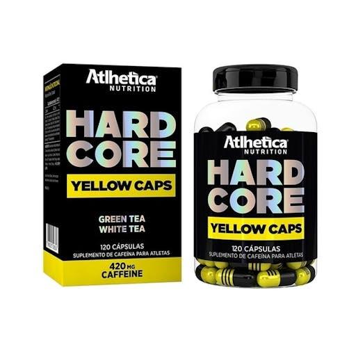 Hard Core Yellow Caps - Atlhetica