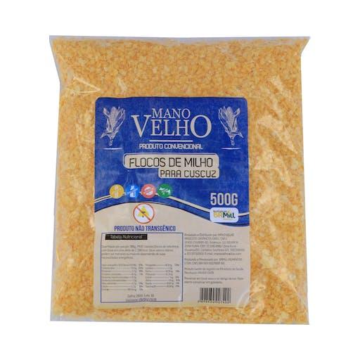 Flocos de milho não transgênico – Mano Velho – 500g