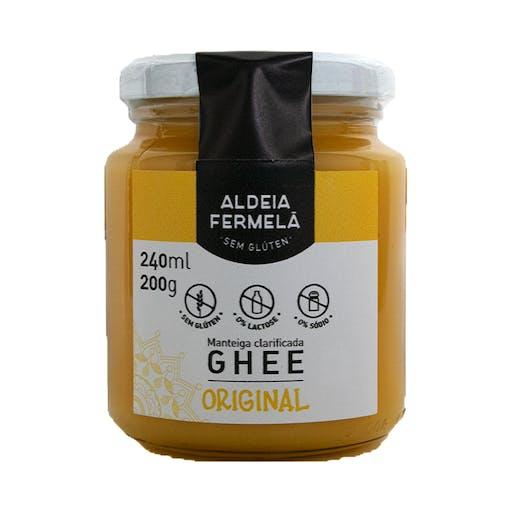 Manteiga Ghee Original  240ml - Aldeia Fermelã