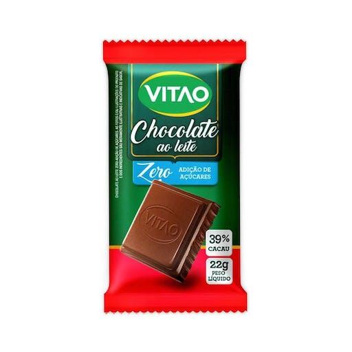 Chocolate Ao Leite Zero - 22g- Vitão
