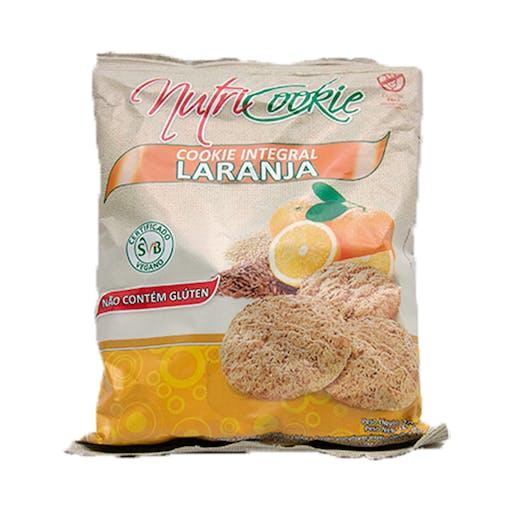 Cookies Laranja Integral 120g - NutriCookie