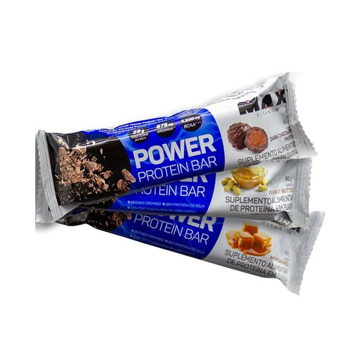 POWER PROTEIN BAR - 90g - Max Titanium