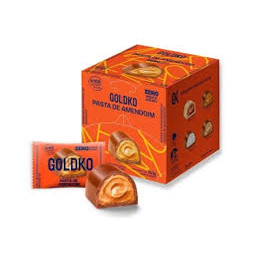 Bombom de Chocolate com Pasta de Amendoim 11,5g - Goldko