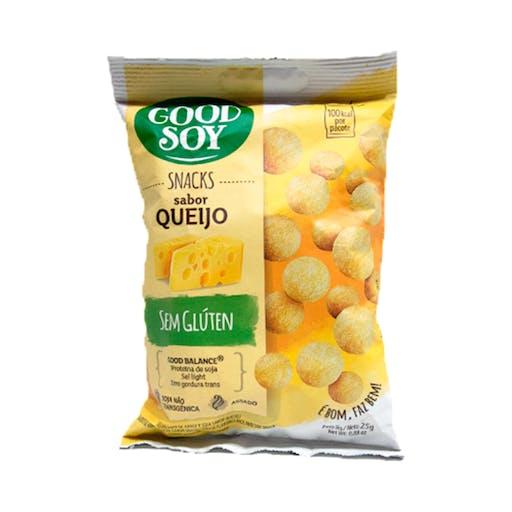 Snacks Sem Glúten Queijo 25g  - Good Soy