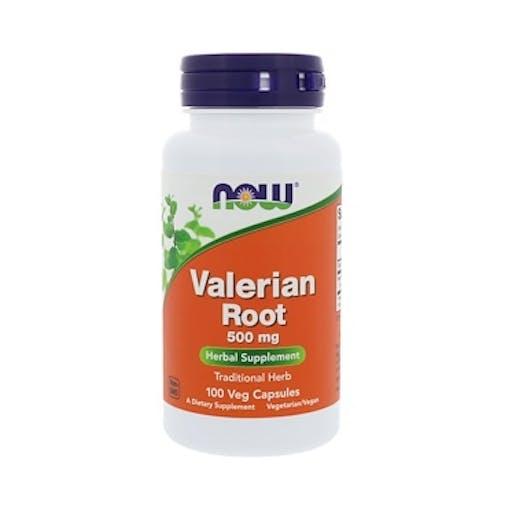 VALERIAN ROOT (Raíz Valeriana) 500mg - 100 CAPS - NOW FOODS